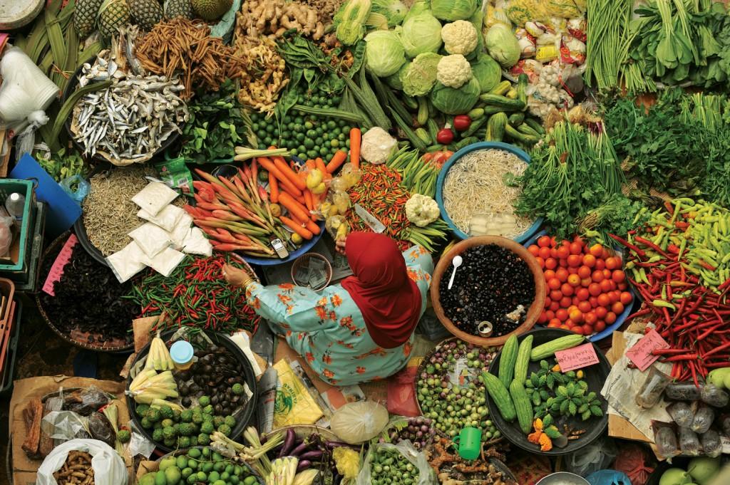 Die Vielfalt Malaysias in Obst und Gemüse